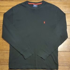 Polo Ralph Lauren Men's Long Sleeve Black …